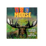 1 2 3 Moose - A Counting Book - By Andrea Helman and Art Wolfe