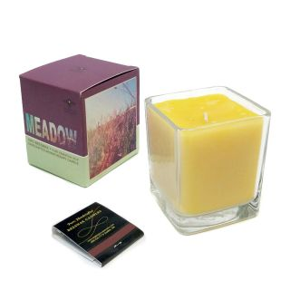 100% Beeswax Aromatherapy Meadow Candle