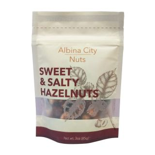 Albina City Nuts - Sweet & Salty Hazelnuts - 3oz