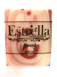 Almond Soap - Estrella Soap Company - 5.5 oz