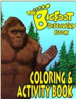Bigfoot Discovery Book - Coloring and Activity Book