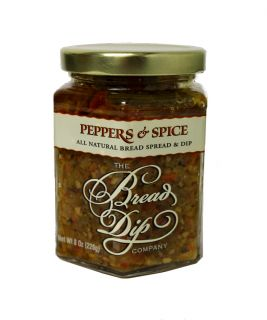 Bread Dip & Spread - Peppers & Spice - 8 oz
