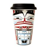 Ceramic Travel Mug - Legacy - Traditional Design - 5