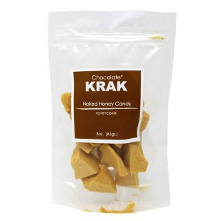 Chocolate Krak - Naked Honeycomb Candy - 3oz