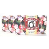 Chukar Cherries - Cherry Blossom Green Tea - Best Price: 3 boxes (36 bags)