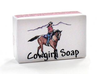 Cowgirl Soap - 3.4 oz