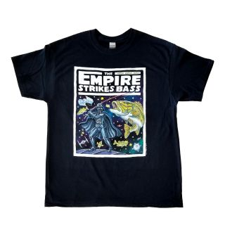Empire Strikes Bass T-Shirt - By Ray Troll