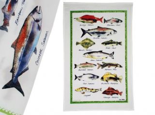 Fish Kitchen Dish Towel - 18