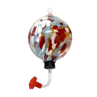 Glass Eye Studio - Hummingbird Feeder - Coral Reef - 4