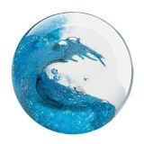 Glass Eye Studio Paperweight - Cresting Wave - 3