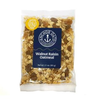 Gluten Free Walnut Raisin Oatmeal Single Serving - 2.1oz