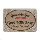 Goat Milk Soap - Honey Oatmeal - 4oz