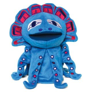 Hand Puppet - Magic - The Octopus Puppet