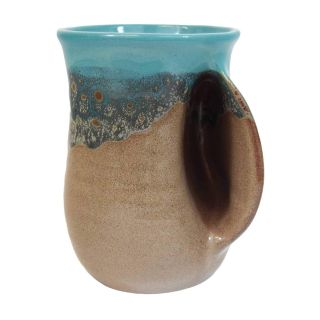 Handwarmer Mug - Island Oasis - Right Handed - 5'' height