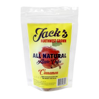 Jack's All Natural Cinnamon Apple Chips - 1.5oz