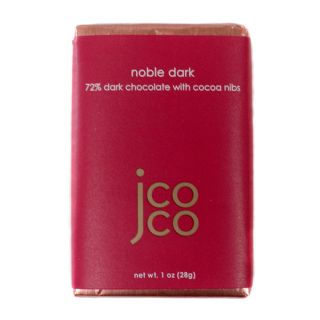 Jcoco Chocolate's Noble Dark Mini Bar - 1oz