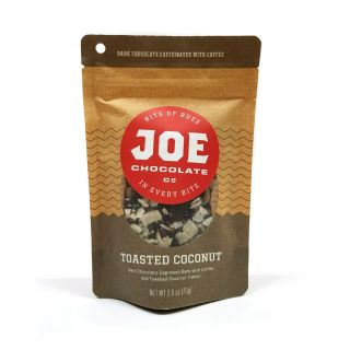 Joe's Toasted Coconut Chocolate Espresso Bark - 2.5 oz