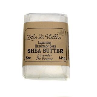 Lilie de Vallee Olive Oil & Shea Butter Soap - Lavender de France - 5 oz