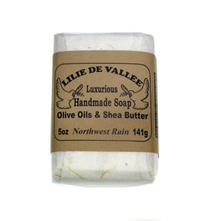Lilie de Vallee Olive Oil & Shea Butter Soap - Northwest Rain - 5 oz
