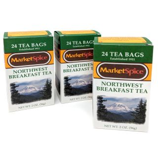 Market Spice Northwest Breakfast Tea - Best Price: 72 bags (3 boxes)