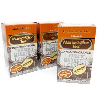 Market Spice Tea - Decaffeinated Tea - Best Price: 72 bags (3 boxes)