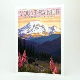 Mount Rainier National Park Greeting Card