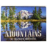 Mountains of the Pacific Northwest - 2017 Wall Calendar