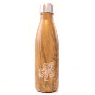 Native American Insulated Water Bottle - Dancing Eagle (16 oz)