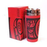 Native American Preserving Design Insulated Travel Mug - 7