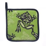 North Coast Indian Frog Design Pot Holder