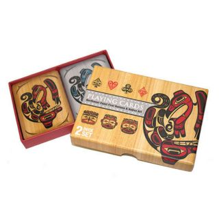 Northwest Coast First Nations and Native Art - Playing Cards - 2 Deck Set