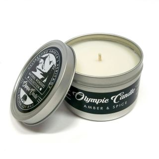 Olympic Candle 6oz Soy Travel Candle - Amber & Spice