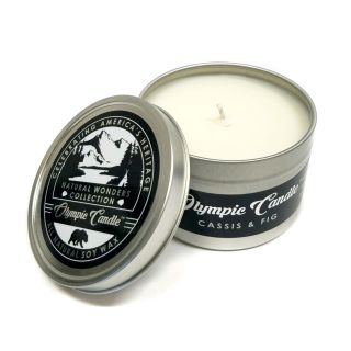 Olympic Candle 6oz Soy Travel Candle - Cassis & Fig