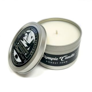 Olympic Candle 6oz Soy Travel Candle - Forest Fern
