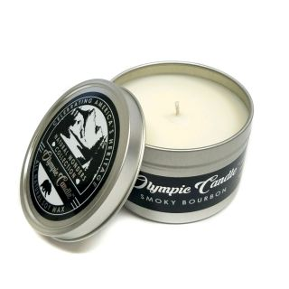 Olympic Candle 6oz Soy Travel Candle - Smoky Bourbon
