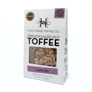 Oregon Hazelnut Toffee - Lavender - 4oz