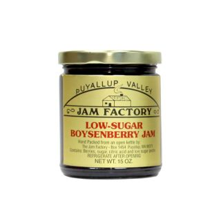 Puyallup Valley Jam Factory - Low Sugar Boysenberry Jam - 10 oz.