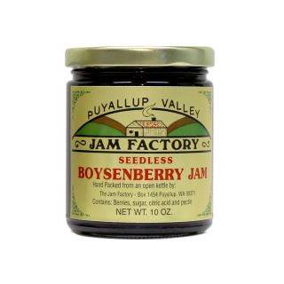 Puyallup Valley Jam Factory - Seedless Boysenberry Jam - 10 oz