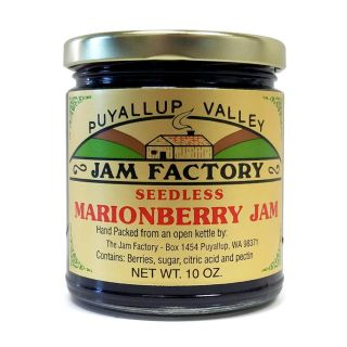 Puyallup Valley Jam Factory - Seedless Marionberry Jam - 10 oz