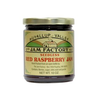 Puyallup Valley Jam Factory - Seedless Raspberry Jam - 10 oz