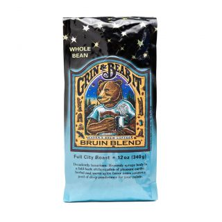 Raven's Brew - Bruin Blend Full City Roast Coffee - 12oz Whole Bean