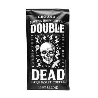 Raven's Brew - Double Dead Dark Roast Coffee - 12oz Ground