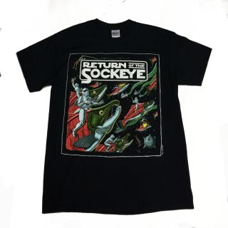 Return of the Sockeye T-Shirt - By Ray Troll