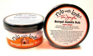 Rub With Love Bengal Masala Rub  (3.5 oz)