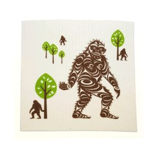 Sasquatch Eco Dishcloth