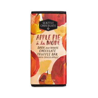 Seattle Chocolates - Apple Pie A La Mode Chocolate Truffle Bar - 2.5 oz