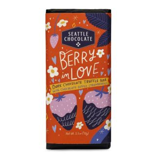 Seattle Chocolates - Berry in Love Truffle Bar - 2.5 oz