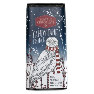 Seattle Chocolates - Candy Cane Crunch Truffle Bar - 2.5 oz