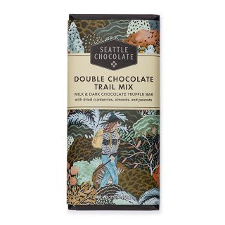 Seattle Chocolates - Double Chocolate Trail Mix Truffle Bar - 2.5 oz