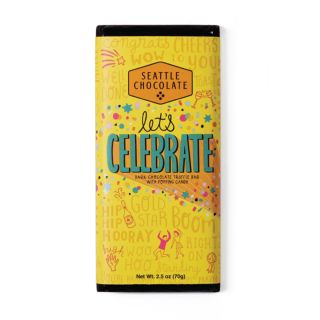 Seattle Chocolates - Let's Celebrate Truffle Bar - 2.5 oz